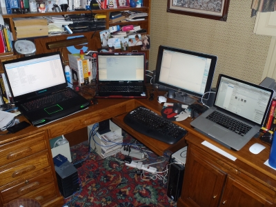 Equipment at Home Office